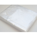 120 gauge Clear Polythene Bags